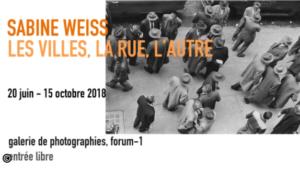 Affiche Sabine Weiss Centre Pompidou