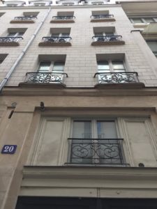 20 rue Jacob, Paris 6