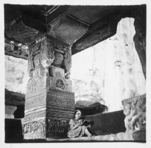 Alice Boner temple Ellora 1938