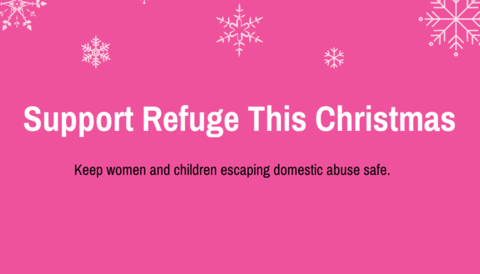 Support Refuge This Christmas