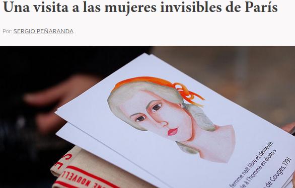 Article Avancia en Revista Una visita a las mujeres invisibles de París