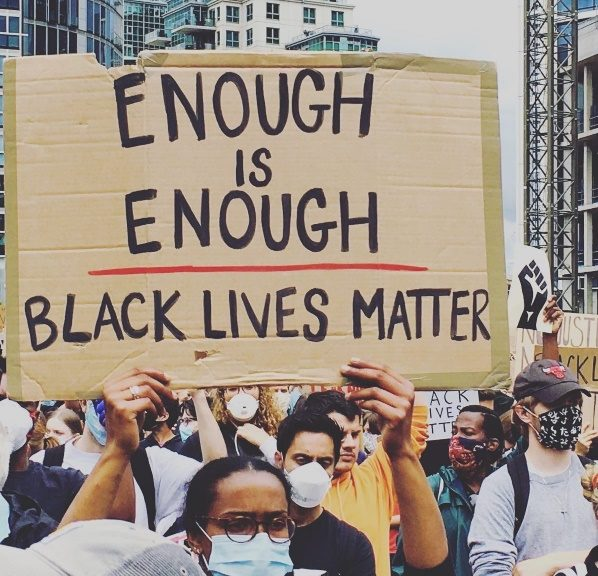Black Lives Matter - London - June 2020 by Anne Quesney