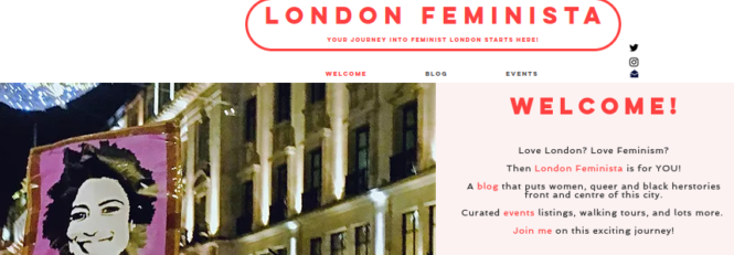 London Feminista welcome