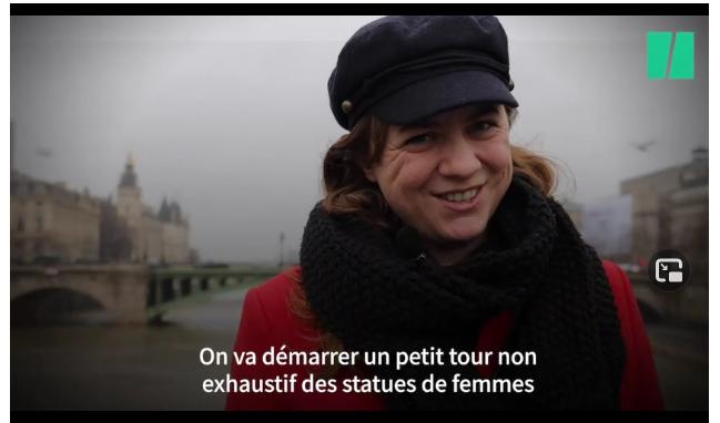 Charlotte Soulary présente un petit tour non exhaustif des statues de femmes pour le Huffington Post